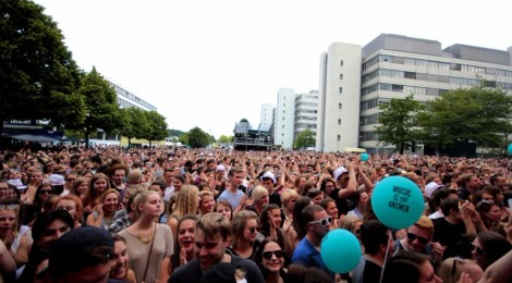 Am Donnerstag: Campus-Festival