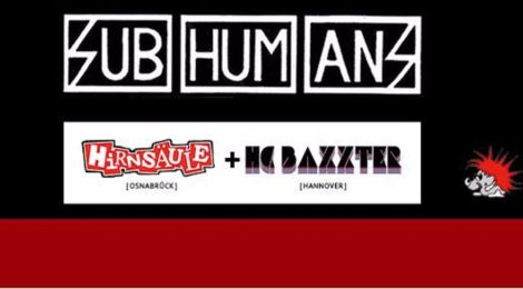 Live: Subhumans im Forum